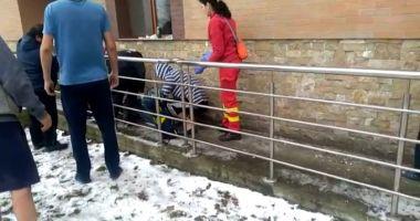 Tentativă de suicid la Constanța! Un bărbat s-a aruncat de la etaj