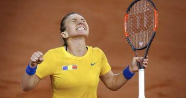 România - Franţa 2-1, în semifinalele Fed Cup, după victoria Simonei Halep