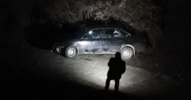 Mașină căzută de pe pod, la Murfatlar!