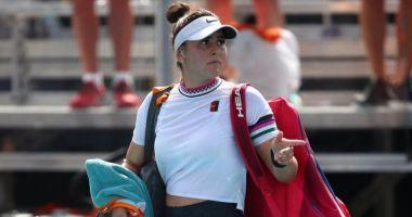 Bianca Andreescu s-a retras de la Miami Open 2019