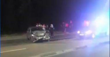Bărbat beat și fără permis, încătușat în Mamaia, după ce ar fi provocat un accident grav