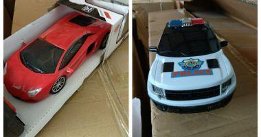 Jucării contrafăcute în valoare de peste 70.000 lei, confiscate în Portul Constanţa Sud Agigea
