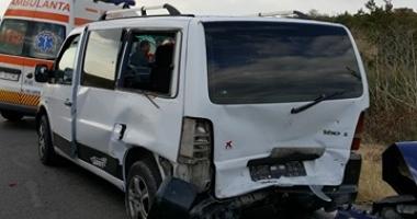 GALERIE FOTO / Accident rutier cu două victime la ieşire din Constanţa