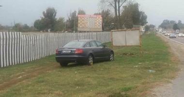 VIDEO / Scene incredibile la Constanţa! Un şofer DROGAT a ieşit în decor, după ce a fugit de medicii care l-au găsit căzut pe stradă