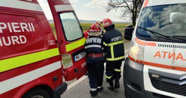 Accident rutier cu TREI MAȘINI, la Spitalul de Boli Infecțioase