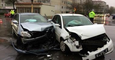GALERIE FOTO / GRAV ACCIDENT RUTIER ÎN ZONA BOEMA DIN CONSTANŢA! UPDATE