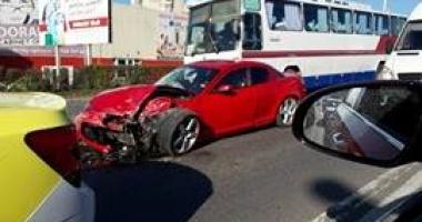 UPDATE - ACCIDENT CU TREI PERSOANE ÎNCARCERATE, LA DORALY