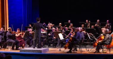 "Concert simfonic sub bagheta dirijoarei Stasie Gonikeberg, la Teatrul ""Oleg Danovski"""