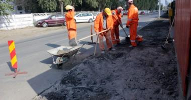 Programul de asfaltare a străzilor din Medgidia a ajuns la final