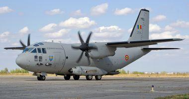 UPDATE. Transport umanitar în Belgia, cu o aeronavă a Forţelor Aeriene Române