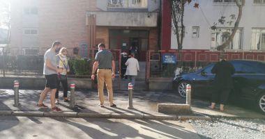 Coadă la secțiile de votare din cartierul constănțean Poarta 6