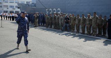 Peste 350 de scafandri militari, instrucție multinațională în Marea Neagră