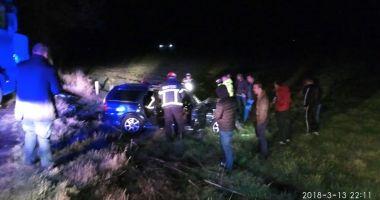 GALERIE FOTO / ACCIDENT RUTIER GRAV la Agigea. 2 victime ÎNCARCERATE