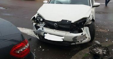 GALERIE FOTO / Accident cu patru autoturisme, în municipiul Constanţa
