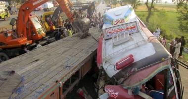 30 de mor�i, �n urma unei tragedii rutiere