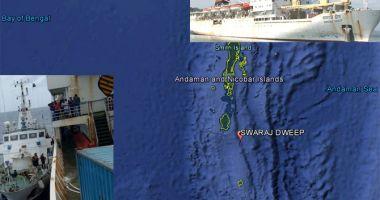 343 de pasageri au fost preluați de pe o navă care lua apă