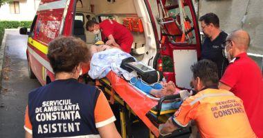 Bărbat din Medgidia, bolnav de cancer, găsit spânzurat. Traheostoma i-a salvat viața!