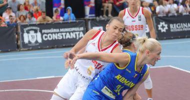VICTORIE DE SENZAŢIE! Echipa naţională feminină de baschet 3 la 3 a României a învins Rusia