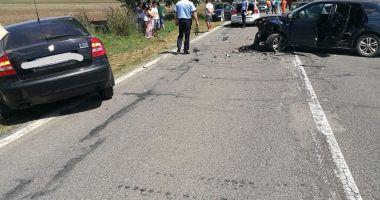 Accident rutier grav, la Constanţa. Sunt 12 victime! GALERIE FOTO