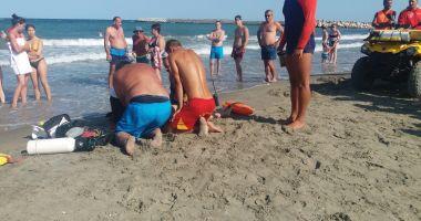 VIDEO / MAREA NU IARTĂ! Copil înecat pe Plaja Trei Papuci din Constanţa