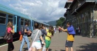 26.400 de pasageri au ales călătoria cu trenul spredinspre litoral