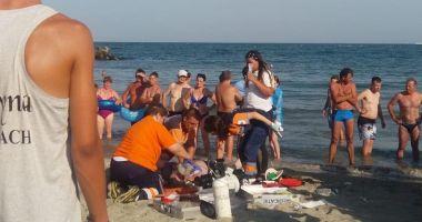 GALERIE FOTO-VIDEO / Un alt înecat pe plaja Reyna