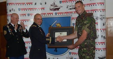 Militar român, medaliat de armata americană!