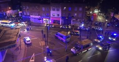ATENTAT LONDRA / Un mort şi opt răniţi după ce un vehicul a intrat în pietoni. Galerie FOTO