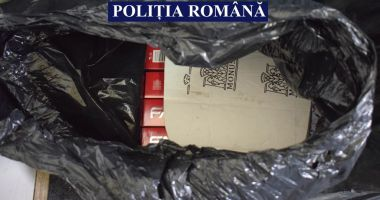 Contrabandişti de ţigări, prinşi de poliţiştii constănţeni