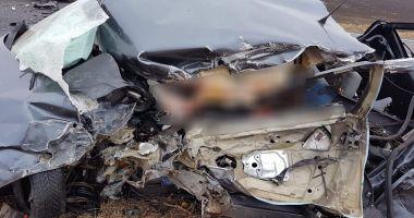 TRAGEDIE RUTIERĂ LA IEŞIRE DIN LUMINA. Ce spune Poliţia Constanţa despre accident
