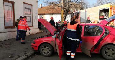 Galerie foto. Accident rutier la Constanţa. Victima este o femeie
