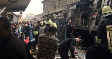 Cel puţin 25 de morţi şi 40 de răniţi, într-un accident de tren urmat de un incendiu