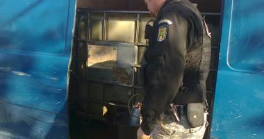 Captură în portul Constanţa: aproape trei tone de motorină confiscate