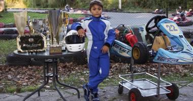 Galerie foto. Constănţeanul Mihai Suteanu, campion naţional la karting