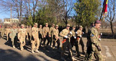 GALERIE FOTO / Momente emoţionante la Constanţa. Militarii români din Afganistan s-au întors acasă