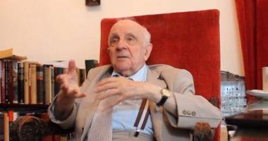 DOLIU în lumea academică! A murit reputatul istoric și academician Șerban Papacostea