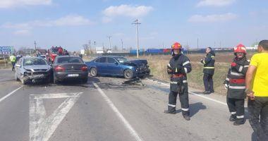 Accident pe Autostrada Soarelui. Doi oameni, răniţi grav