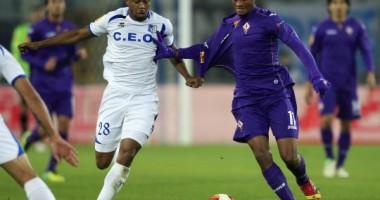 Meci de coşmar pentru Pandurii în Europa League. Fiorentina a marcat golul victoriei în prelungiri