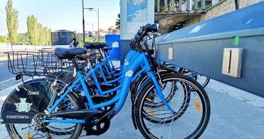 390 de biciclete sunt puse la dispoziția constănțenilor și a turiștilor începând de astăzi!