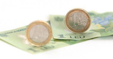 Euro a recuperat 0,08% în favoarea leului. Iată cotaţia zilei