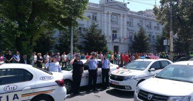 Momente de reculegere la Constanţa, pentru poliţistul împușcat în gât de un infractor