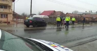 Accident rutier provocat de o femeie gravidă: