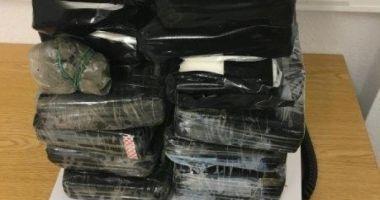 12,7 kg de cocaină descoperite în mașina unor români, în Germania. O defecțiune banală i-a dat de gol