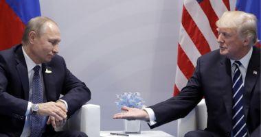 Donald Trump şi Vladimir Putin au pus lumea la cale într-o lungă discuţie telefonică