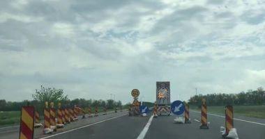 Noi restricţii de circulaţie pe Autostrada Soarelui