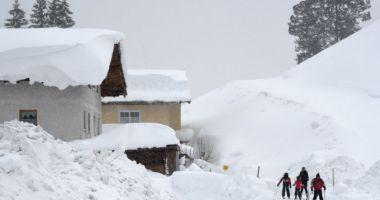 Stare de urgență în mai multe regiuni din Europa din cauza zăpezii. 24 de oameni au murit