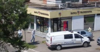 Jaf armat la o bancă din Baia Mare. Hoţii au venit pe scutere şi au fugit cu 100.000 de lei