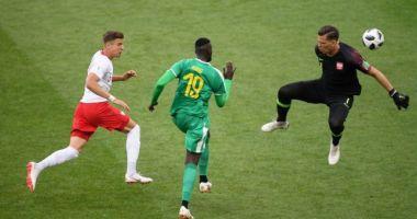 CM 2018.  Senegal a dat lovitura în meciul cu Polonia, cu două goluri bizare