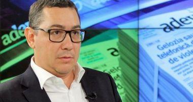 Victor Ponta cere înlocuirea şefilor Jandarmeriei!