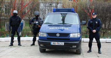 Conflict aplanat de către jandarmii constănţeni, în zona instanţelor judecătoreşti